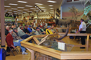 Fishing Seminar and In-Store Promotion at Cabela's in Owatonna, MN