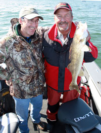 Fish northern Minnesota with Tom Neustrom for Northerns and Muskies.