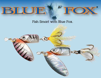 Blue Fox Fishing Lures
