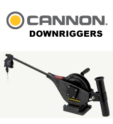 Cannon Downriggers, Rod Holders and Accessories