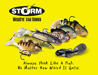 Storm Lures - Grab Life By The Gills!