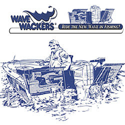 Wave Wackers - Backtrolling Splash Guards for fishing boats