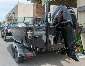Minnesota Fishing Connections guide trip customers fish in style and comfort in the 2019 Lund Pro-V boat.
