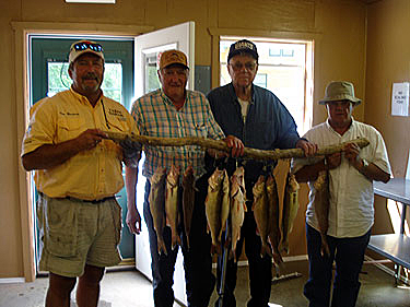 Guided Fishing Trips with Pro Guide Tom Nuestrom always put customers on the walleye.