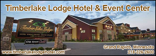 Timberlake Lodge Hotel & Event Center in Grand Rapids, Minnesota